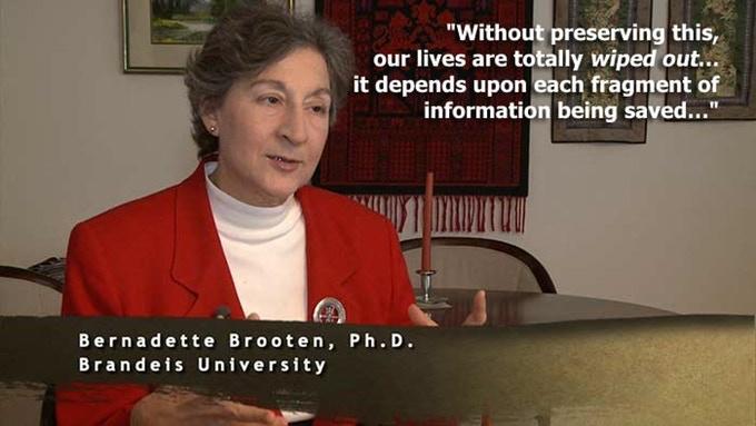 "Bernadette Brooten Ph.D., interviewed for ""Before Homosexuals"""