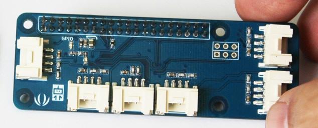 The First Prototype of the GrovePi Zero.