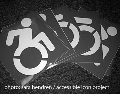 [stickers from sara hendren's 2010 accessible icon project]