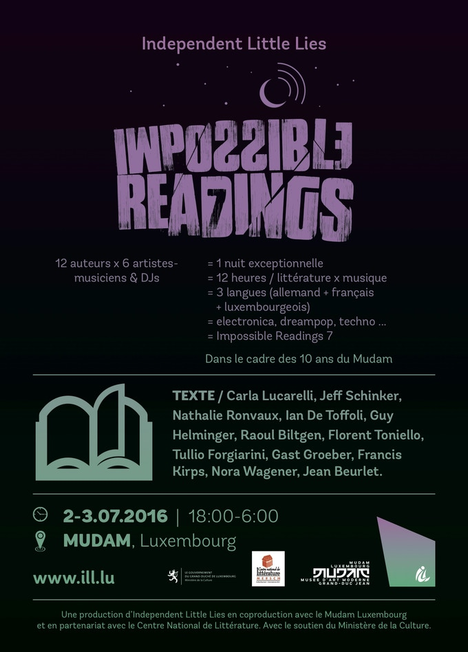 Flyer Impossible Readings 7 recto ©BRKFST