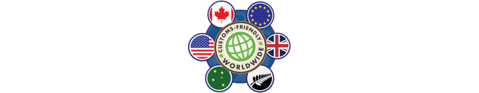 Remember: our shiping is customs-friendly worldwide