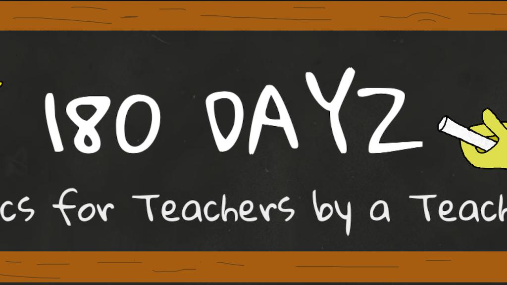 180Dayz Teacher and Education Comics Wall Calendar project video thumbnail