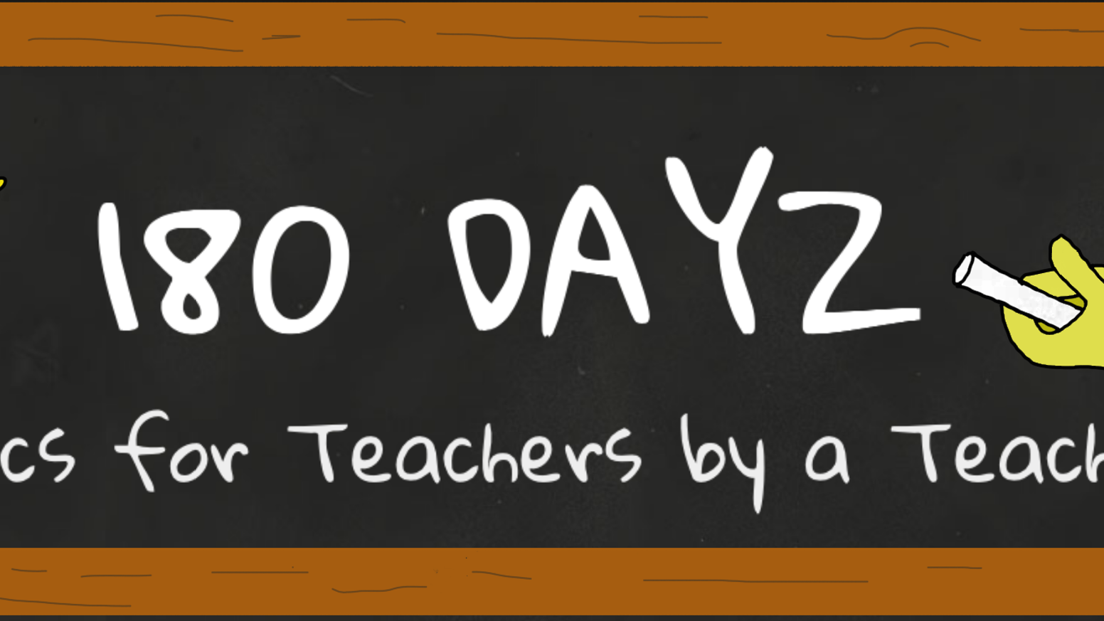 High quality wall calendar featuring a monthly themed 180Dayz teacher comic that will keep you laughing through the school year
