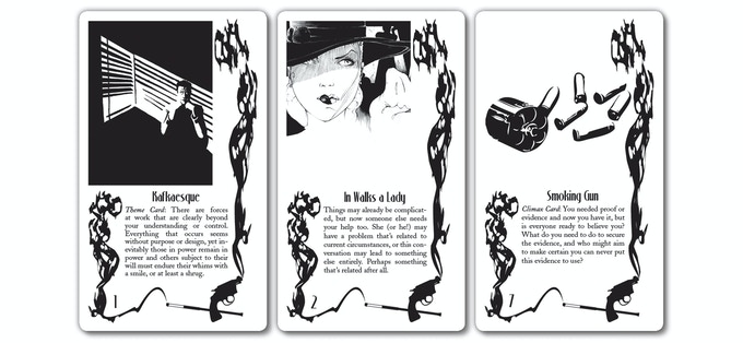 Cards in the Path of Shadows deck grant the players agency in the narrative of any RPG.