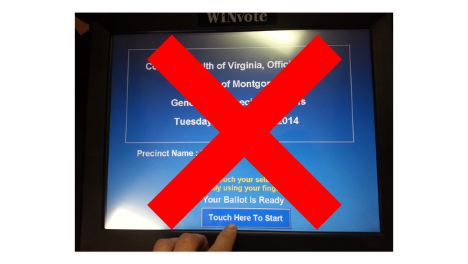 WinVote Voting Machines Were Decertified In VA In 2015