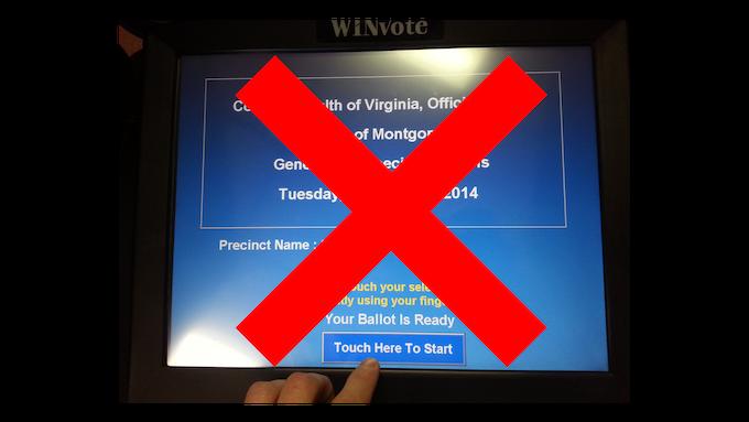 WinVote Voting Machines Were Decertified In VA In 2015