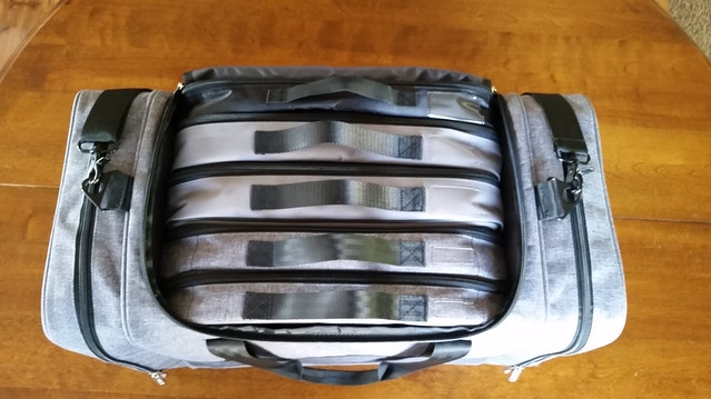 Five Gamefolios in a Vault Bag