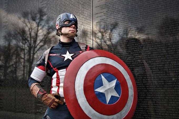 CAPTAIN AMERICA (MARVEL) | Cosplayer: Skydance MacMahon | Photography: Sam Apple Cummins
