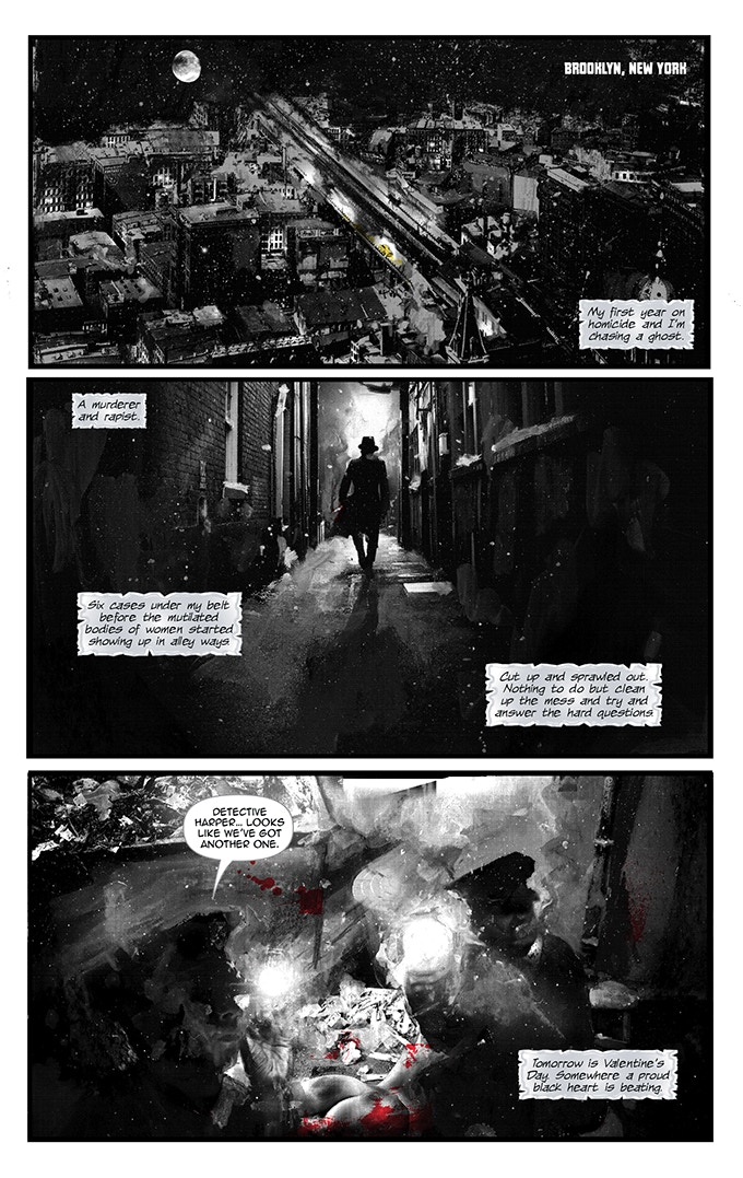 Page 3 from BLACK OF HEART #1