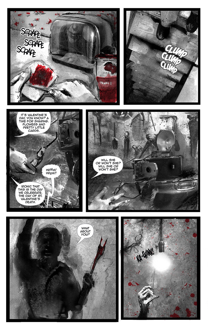 Page 18 from BLACK OF HEART #1