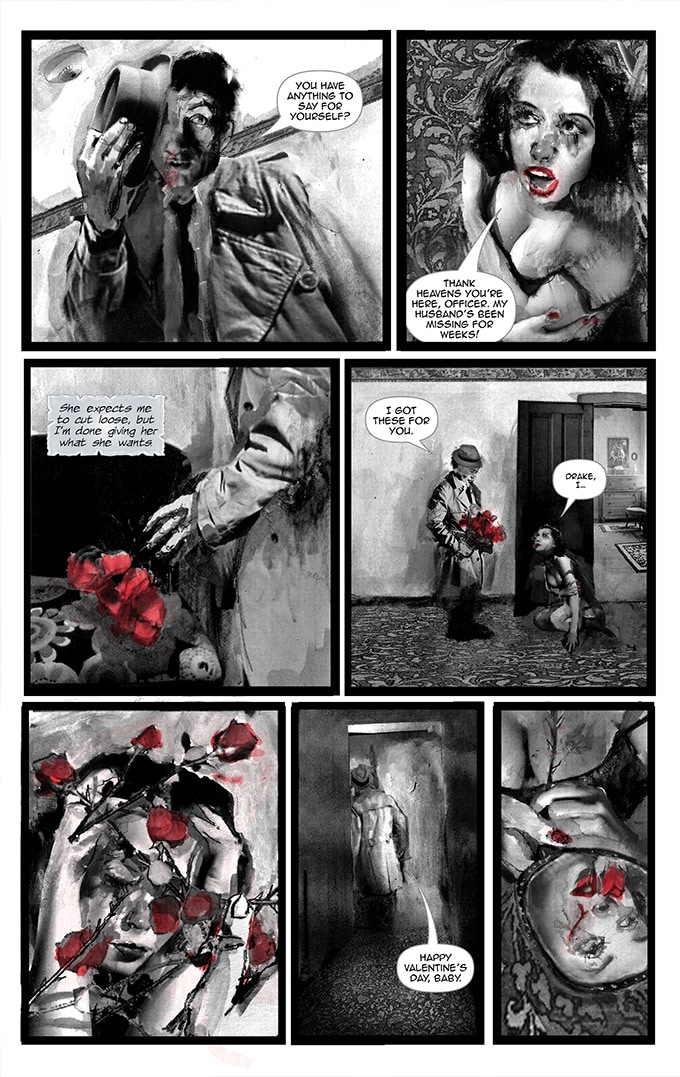 Page 21 from BLACK OF HEART #1