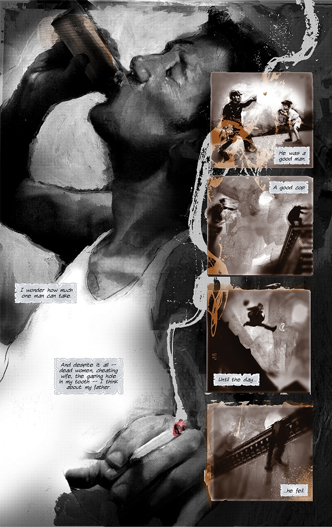 Page 23 from BLACK OF HEART #1
