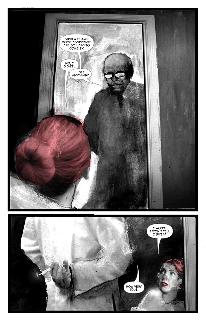 Page 23 from BLACK OF HEART #2