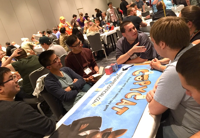 Demo session at Kublacon Game Convention 2016 (Burlingame, CA)