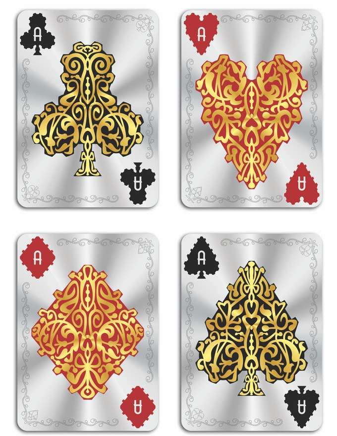 SHINE Deck - Full Set Of Aces