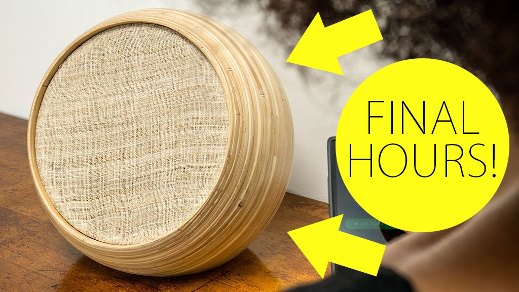 Hazang: Luxury Bamboo Speakers, Handcrafted in Vietnam. project video thumbnail