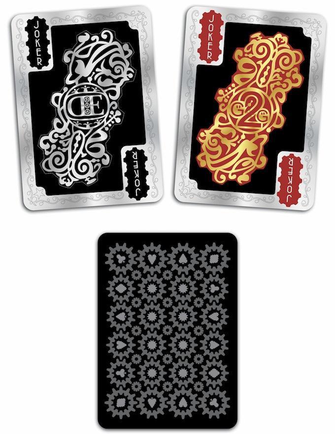 SHINE Deck - Jokers & Card Back
