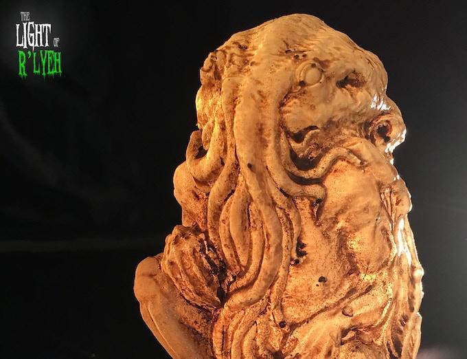 Cthulhu Eternal - translucent resin detail