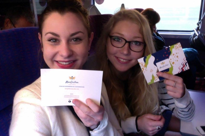 The co-founders : Camille & Coline