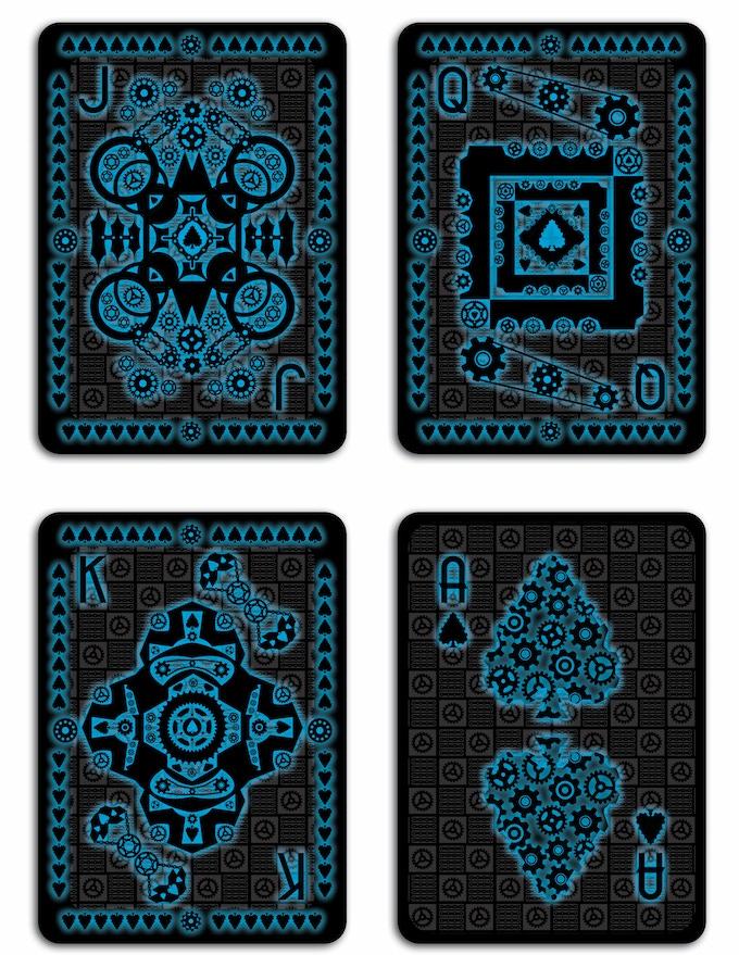 GLOW Deck - Club Court Cards