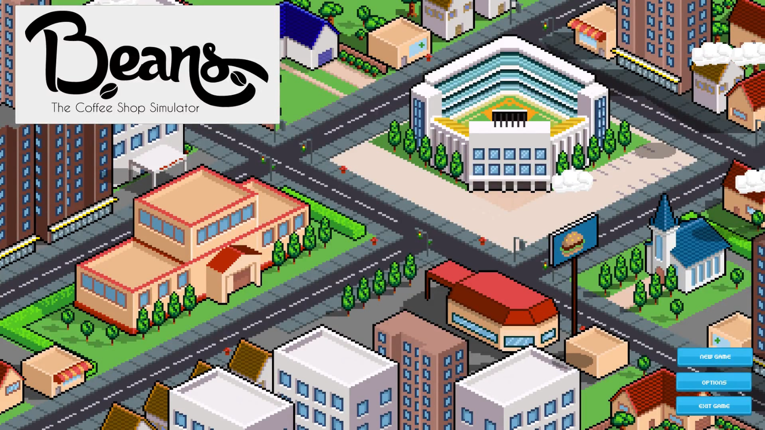Beans is a sardonic simulation game about hipsters running a coffee shop. Fans of Tycoon games and dark humor will be right at home!