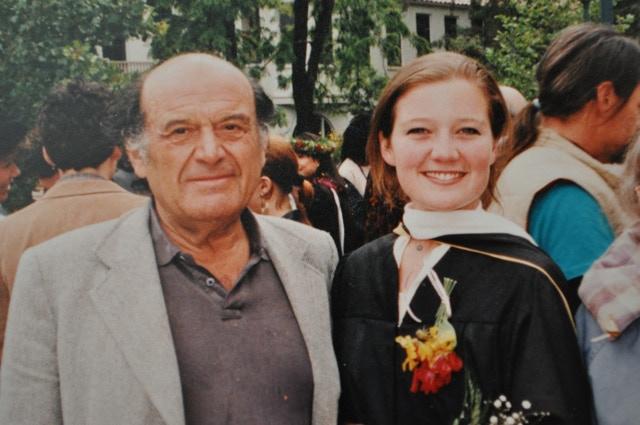 Moe and Doris Moskowitz, 1990
