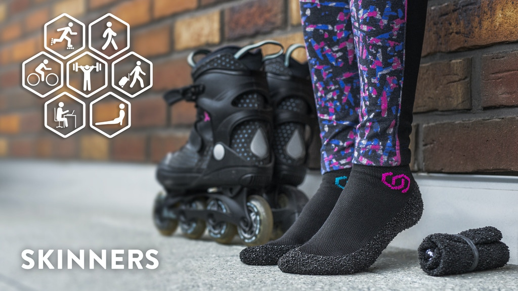 SKINNERS: Revolutionary Ultraportable Footwear with Silver project video thumbnail