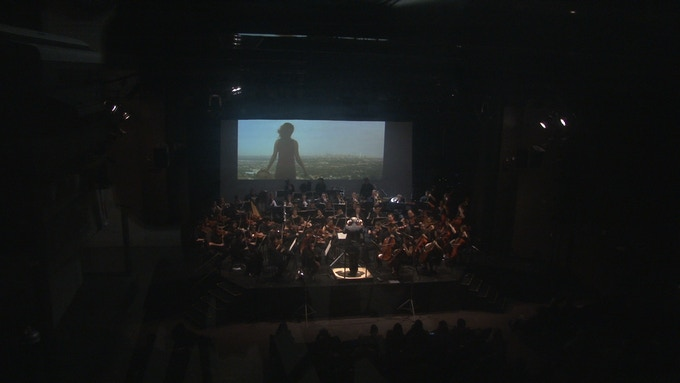 One of our live orchestral screenings. Story drawn from the music of Wagner.