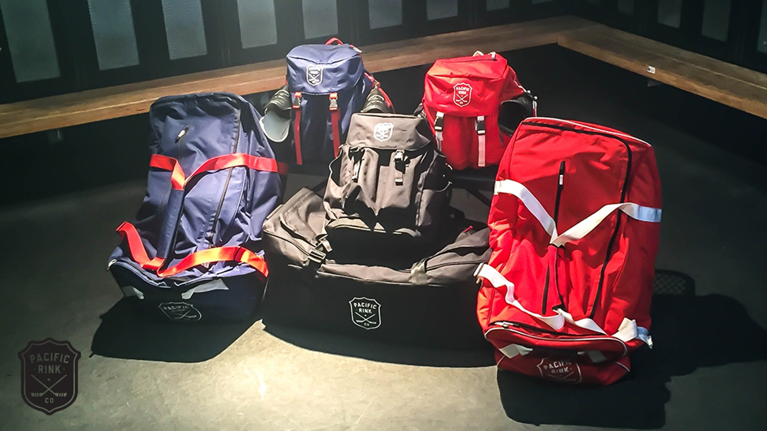 The Ultimate Hockey Bag built for Players by Players & Hockey Inspired Backpack for Outdoor Players, Coaches, Refs and Parents.