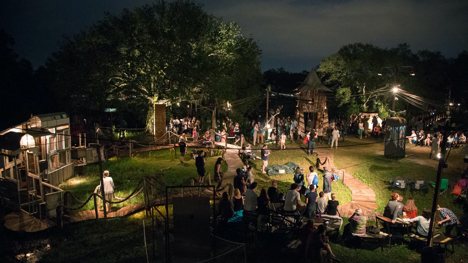 This fall, New Orleans Airlift is creating a permanent home for the Music Box Village!