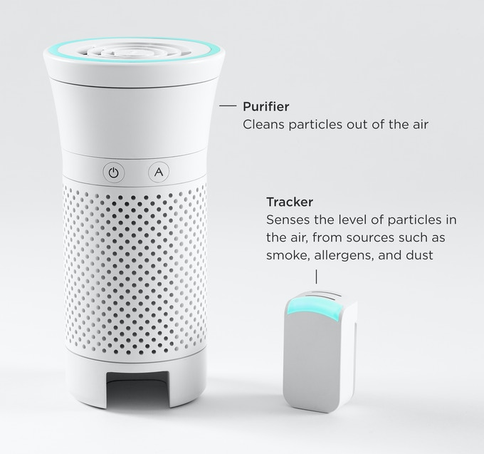 Personal Air Purifier : Wynd the smartest air purifier for your personal space