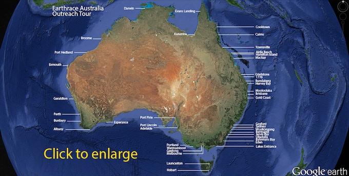 Australia Outreach Tour