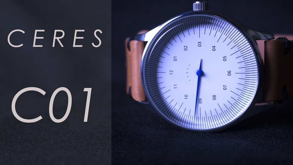 CERES: A Revolutionary single-handed watch project video thumbnail