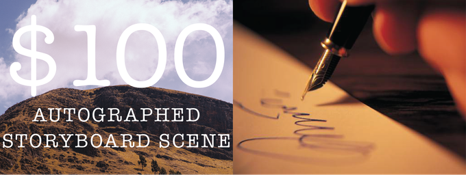 Receive an autographed storyboard from the film!