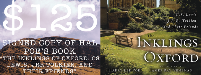 """Signed Copy Of Hal Poe's Book """"The Inklings Of Oxford, C.S. Lewis, J.R.R. Tolkien, And Their Friends"""""""