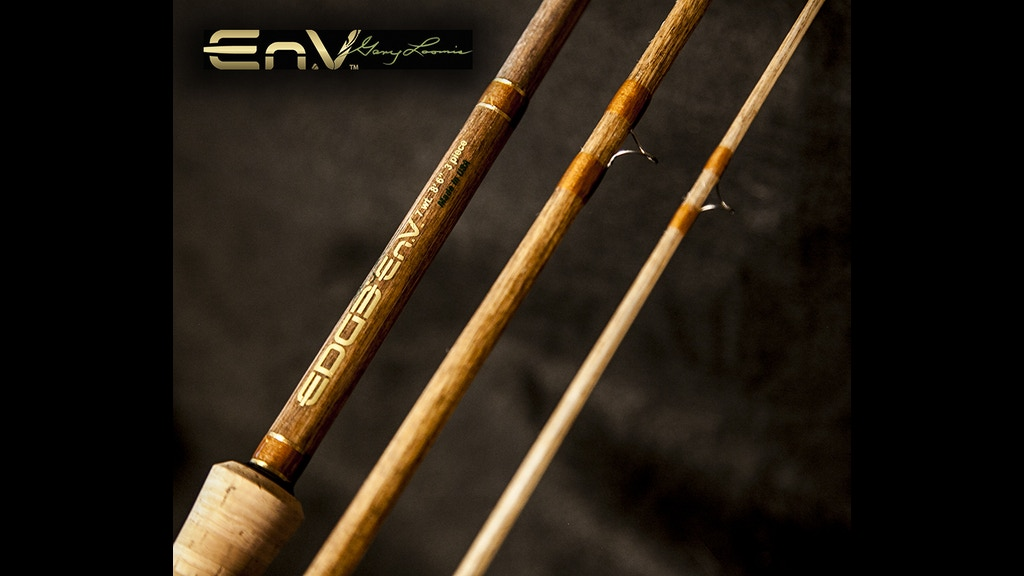 edge rods en v linen fishing rods by gary loomis by edge