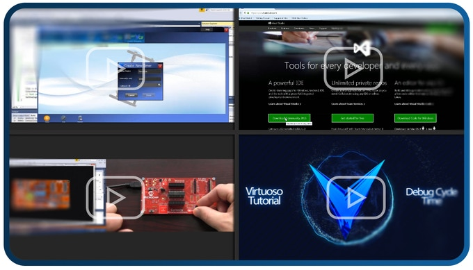 Easy-to-follow tutorial videos accelerate learning, either for beginners or for the most advanced design topics.