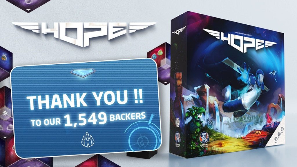 HOPE - The Board Game project video thumbnail