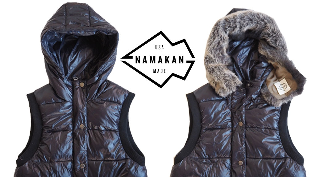 Namakan: First-Ever Universal Faux Fur Ruff for all Hoods project video thumbnail