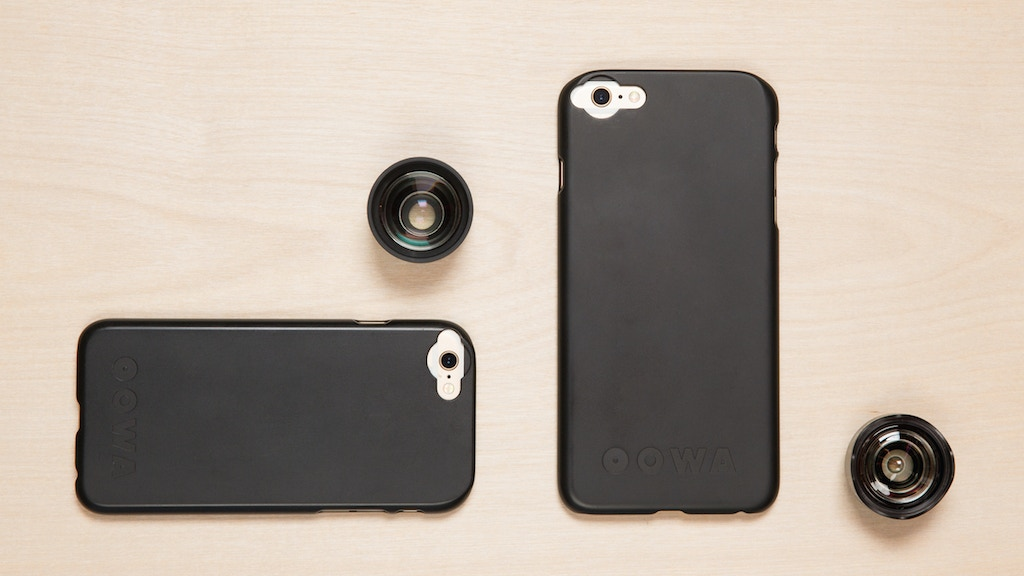 OOWA -- Mobile photography's highest-quality lenses project video thumbnail