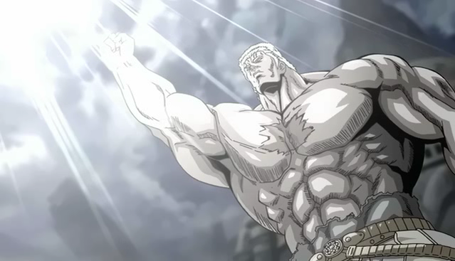 "Ken Shiro - Raoh death! ""The giant star has fallen!"""