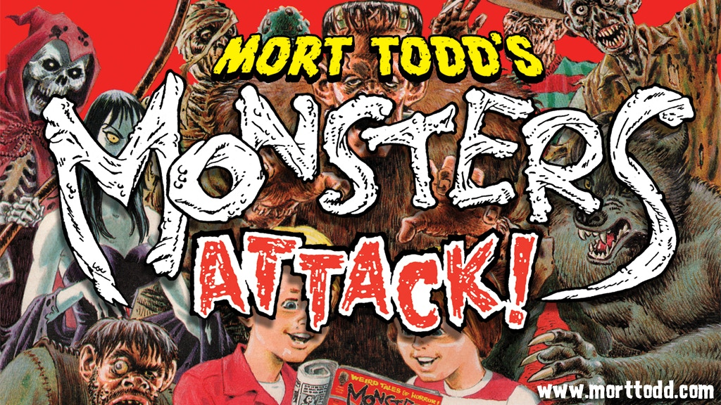 The MONSTERS ATTACK Collection! Classic Horror Comics project video thumbnail