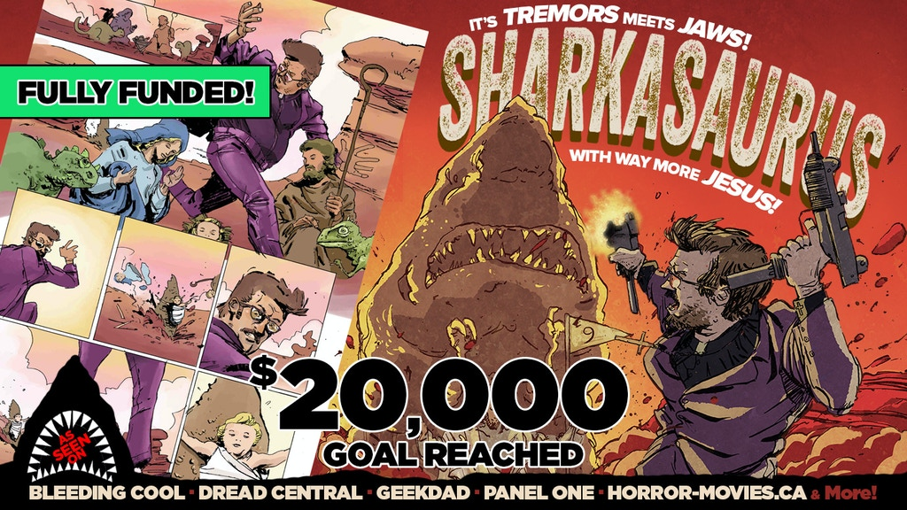 Sharkasaurus project video thumbnail