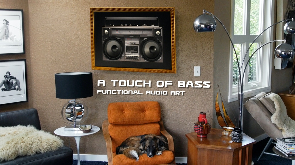 A Touch of Bass, The Sound-System for the Aesthetic Genius project video thumbnail