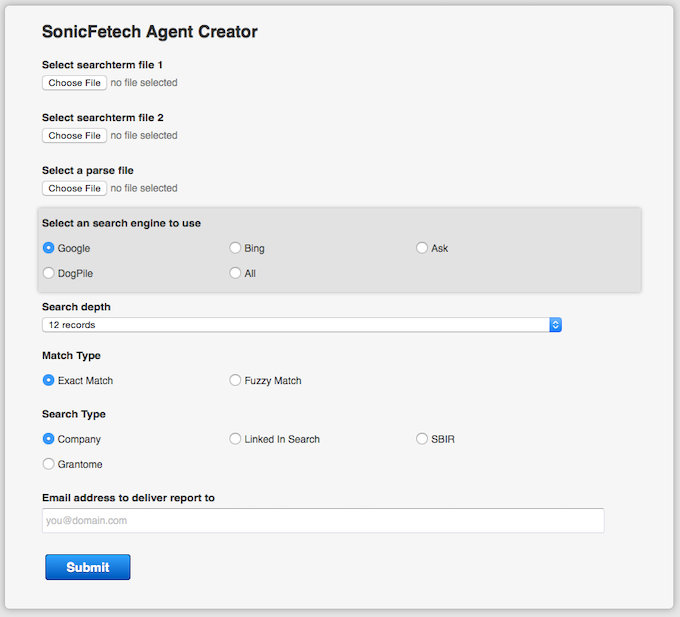 Sonicfetch Web Search 2 0 Compiles Ranks Presents Data By Laurie Tony Lialin Kickstarter 0 watchers1 page view0 deviations. kickstarter