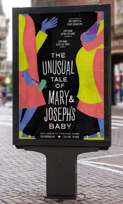 Mary & Joseph Show Poster
