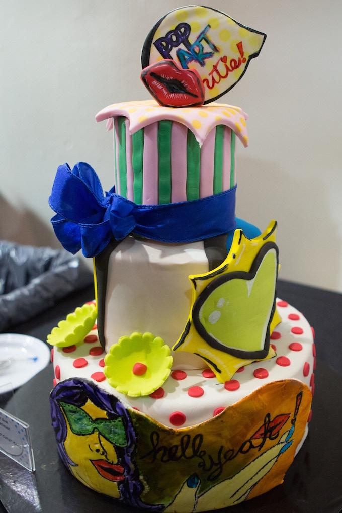Pop Art Cutie Cake