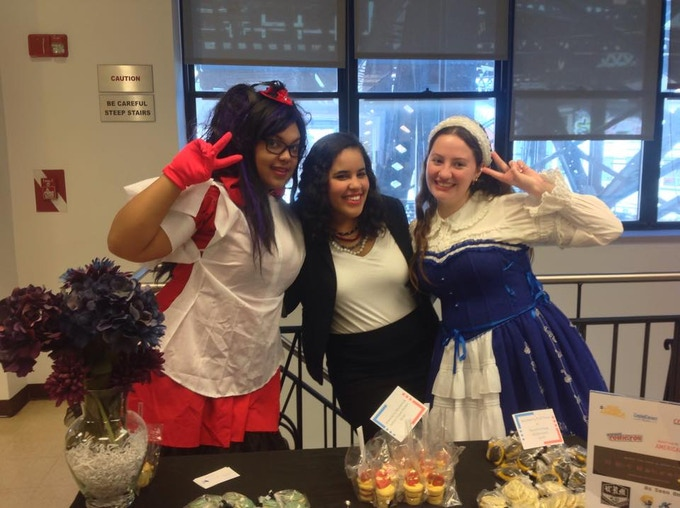 We hosted a comic book maid cafe at the Fortune Society - a non profit assisting the formerly incarcerated transitioning to normal life.