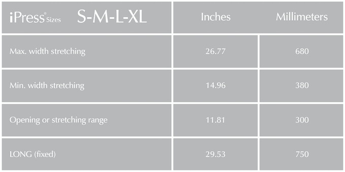 *S and XL sizes depend on the patronage of the manufacturer and the nature of the textile fabric