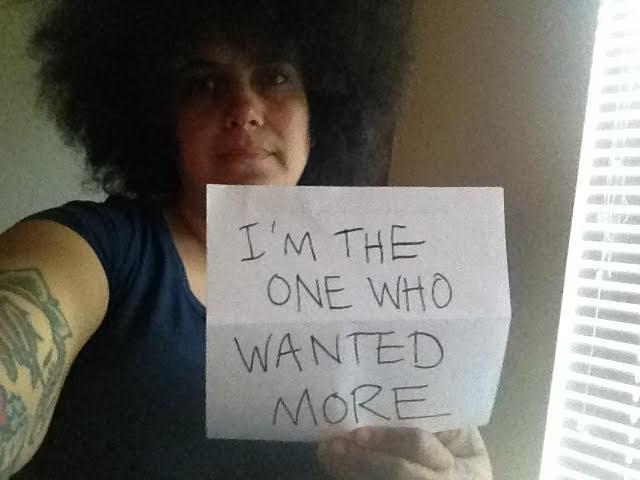 Our friend Kimya Dawson, as featured in our campaign video! What!